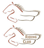 Mustang symbol Stock Photography