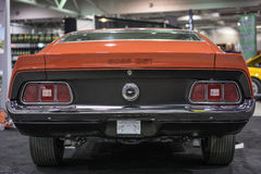 Mustang tylni końcówka Obrazy Stock