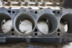 Mustang V8 engine block Stock Photo