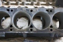 Mustang V8-Motorblock Stockfoto