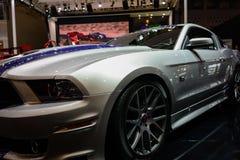 Mustang 302 van Saleen op 2014 CDMS Stock Fotografie