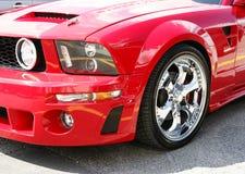 Mustang-Vorderseite Lizenzfreie Stockfotografie