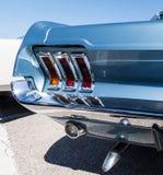 Mustangbaksidadetalj Royaltyfri Foto