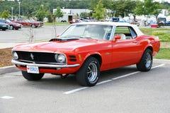 Mustangcabriolet 1970 Royaltyfria Bilder