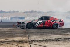 Mustangdrivabil Fotografering för Bildbyråer