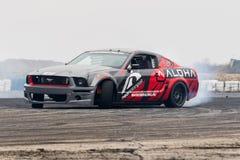 Mustangdrivabil Royaltyfria Bilder
