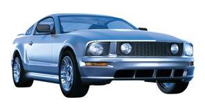 Mustangleistungpferd Stockbild