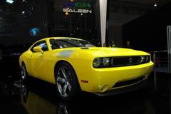 Mustango 570, funcionamiento estupendo de Saleen, amarillo Imagenes de archivo