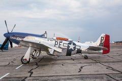 Mustango P-51 Foto de archivo