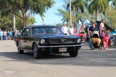 Mustango viejo conducido Imagen de archivo libre de regalías