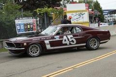 Mustangraceauto Royalty-vrije Stock Foto