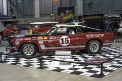 Mustangrennwagen Lizenzfreie Stockfotos
