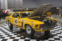Mustangrennwagen Stockbild