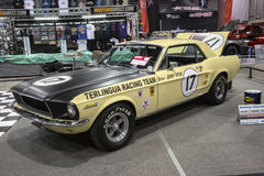 Mustangrennwagen 1967 Lizenzfreies Stockbild