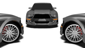 Mustangs Royalty Free Stock Photography