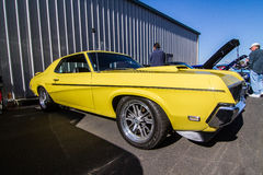 Mustangs Plus stockton ca Car Show 2014 stock image