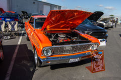 Mustangs Plus stockton ca Car Show 2014 Royalty Free Stock Photography