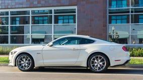 ` Mustangsteeg `, bij de Woodward-Droomcruise Stock Afbeelding