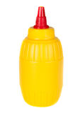 Mustard bottle Royalty Free Stock Photography