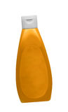 Mustard bottle isolated Stock Images