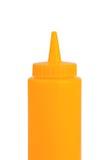 Mustard bottle Stock Images