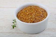 Mustard dijon Stock Images