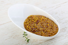 Mustard dijon Royalty Free Stock Photos