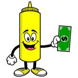 Mustard with a Dollar Stock Images