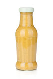 Mustard glass bottle Stock Photo