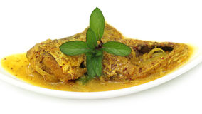 Mustard Ilish Stock Photos