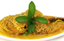 Mustard Ilish Stock Image