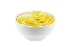 Mustard isolated royalty free stock images