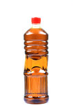Mustard oil bottle royalty free stock photography
