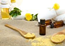 Mustard oil Royalty Free Stock Photo