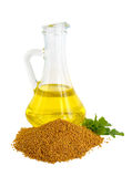 Mustard oil Royalty Free Stock Photo