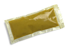 Mustard Packet Stock Image