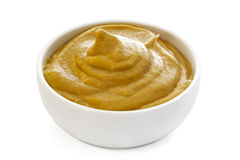 Mustard (with Path) Stock Image