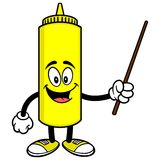 Mustard with a Pointer Royalty Free Stock Image