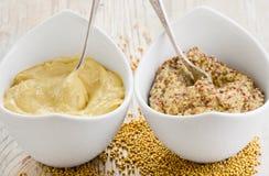 Mustard sauce Royalty Free Stock Image