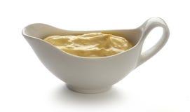 Mustard sauce Stock Photo