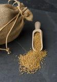 Mustard Seed Stock Image