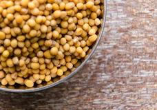 Mustard seeds Stock Photos