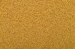 Mustard seeds texture Royalty Free Stock Photography