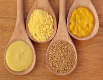 Mustard Selection Stock Photos