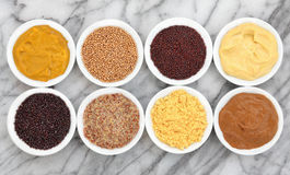 Mustard Types Royalty Free Stock Images
