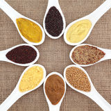 Mustard Variety Royalty Free Stock Images