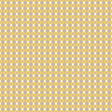 Mustard yellow and taupe vector geometric seamless Royalty Free Stock Photography