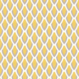 Mustard yellow and taupe vector geometric seamless Royalty Free Stock Photos