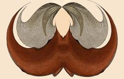 Mustash-Zusammenfassung Lizenzfreies Stockbild