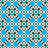 Muster acht maurisch Stockbild